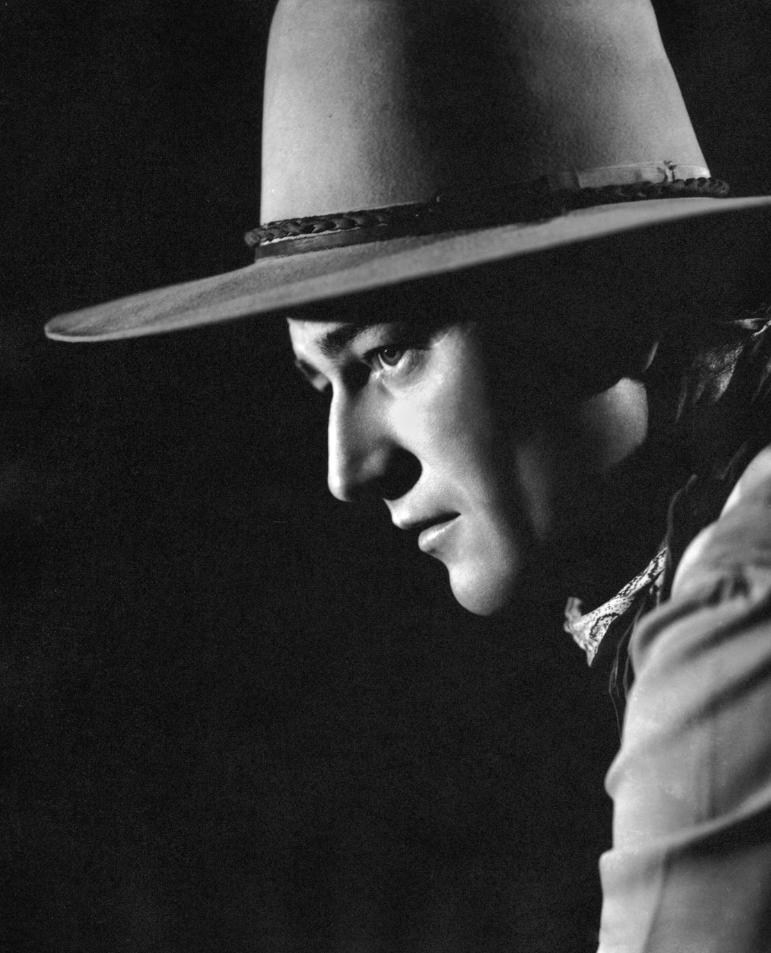 John Wayne as Ringo Kid by Ned Scott
