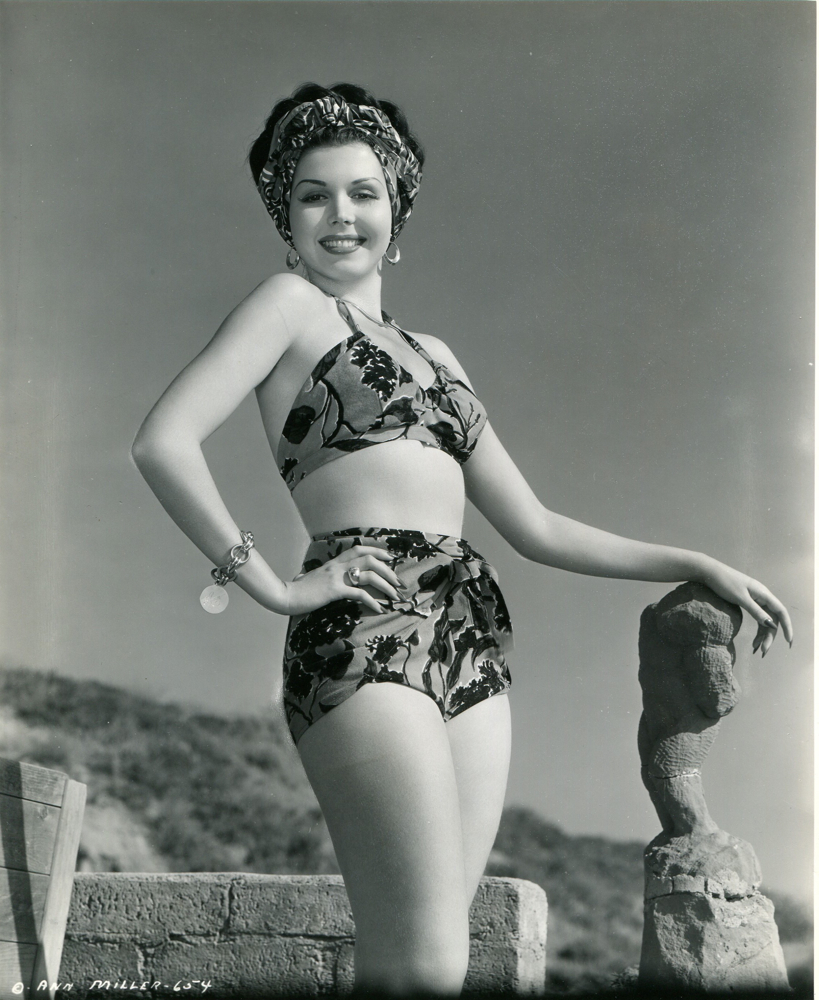 ann miller at Cornelia Runyon's estate