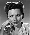 "A portrait of Agnes Moorehead as Aunt Jessie Frame in Director Leslie Fenton's wartime drama, ""Tomorrow the World"", 1944.  Agnes' role is one of moderation and support as a struggle takes place in the Frame household when Mike Frame's nephew who a member of the Hitler Youth comes for a visit."