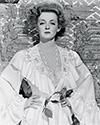 "Bette Davis plays scheming Southern aristocrat turned pauper, Regina Giddens, who plots to obtain a large sum of money by using her ailing husband and devoted daughter to nefarious ends. Director William Wilder's film noir drama, ""The Little Foxes"", 1941."