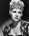 Claire Trevor playing the role of Dallas, the outcast girl, for the film Stagecoach