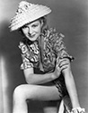 Claire Trevor in a private sitting for Stagecoach 1938