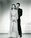 Glenn Ford with Janis Carter from the movie