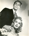 Glenn Ford with Evelyn Keyes from the movie
