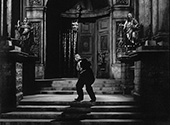 Emil the Brewer who is the hated Nazi collaborator, played by Gene Lockhart, meets his end in Fritz Lang's 'Hangmen Also Die', 1943