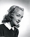 Nina Foch as Harriet Hobson, casino hat check girl who commits suicide in the 1947 thriller 'Johnny O'Clock'.
