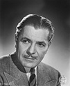 "Potrait of Warner Baxter for the 1947 film, ""The Crimes Doctor's Gamble"".  Warner Baxter plays the ever curious and suspicious Dr. Ordway in yet another iteration of the ""Crime Doctor"" series of films produced by Columbia Studios in the 1940's.  The scene for this crime drama is Paris where Dr. Ordway is brought into a murder case by his long time friend, the Perfect of Police. Director William Castle's detective crime thriller, ""The Crime Doctor's Gamble"", 1947."