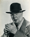 "Charles Coburn: 1945 caption for this print reads: ""Charles Coburn, who plays the part of Robert Drexel Gow, a millionaire newspaper publisher in Columbia's comedy-drama,'Over 21', co-starred with Irene Dunn and Alexander Knox."