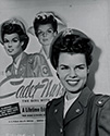 Cadet Nurse Beulah Tyler poses with the Cadet Nurse recruitment poster in The Story of G.I. Joe.  If all these faces seem the same, there's a reason: Beulah Tyler modeled for the poster.