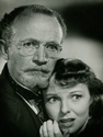 Walter Brennan and Anna Lee