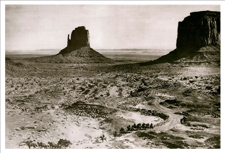 Monument Valley fromthe movie, Stagcoach