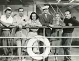 Director Tay Garnett, Fredric March, Joan Bennett, Ralph Bellamy, Ann Southern, Cinematographer Rudy Mate