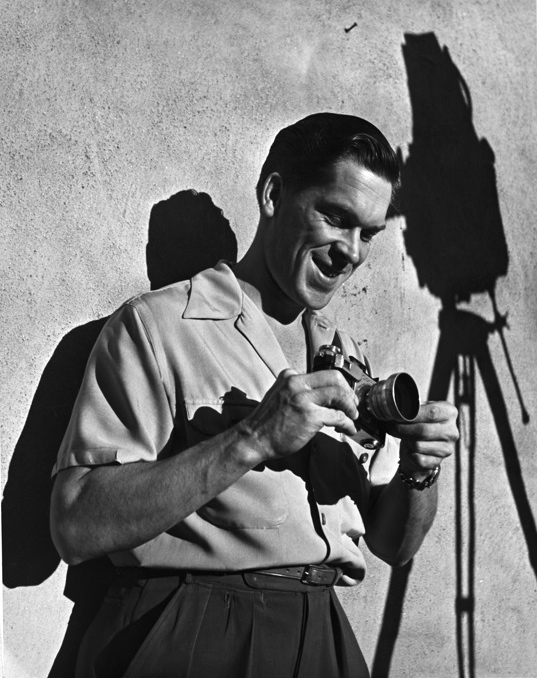 Peter Stackpole photo of Ned Scott