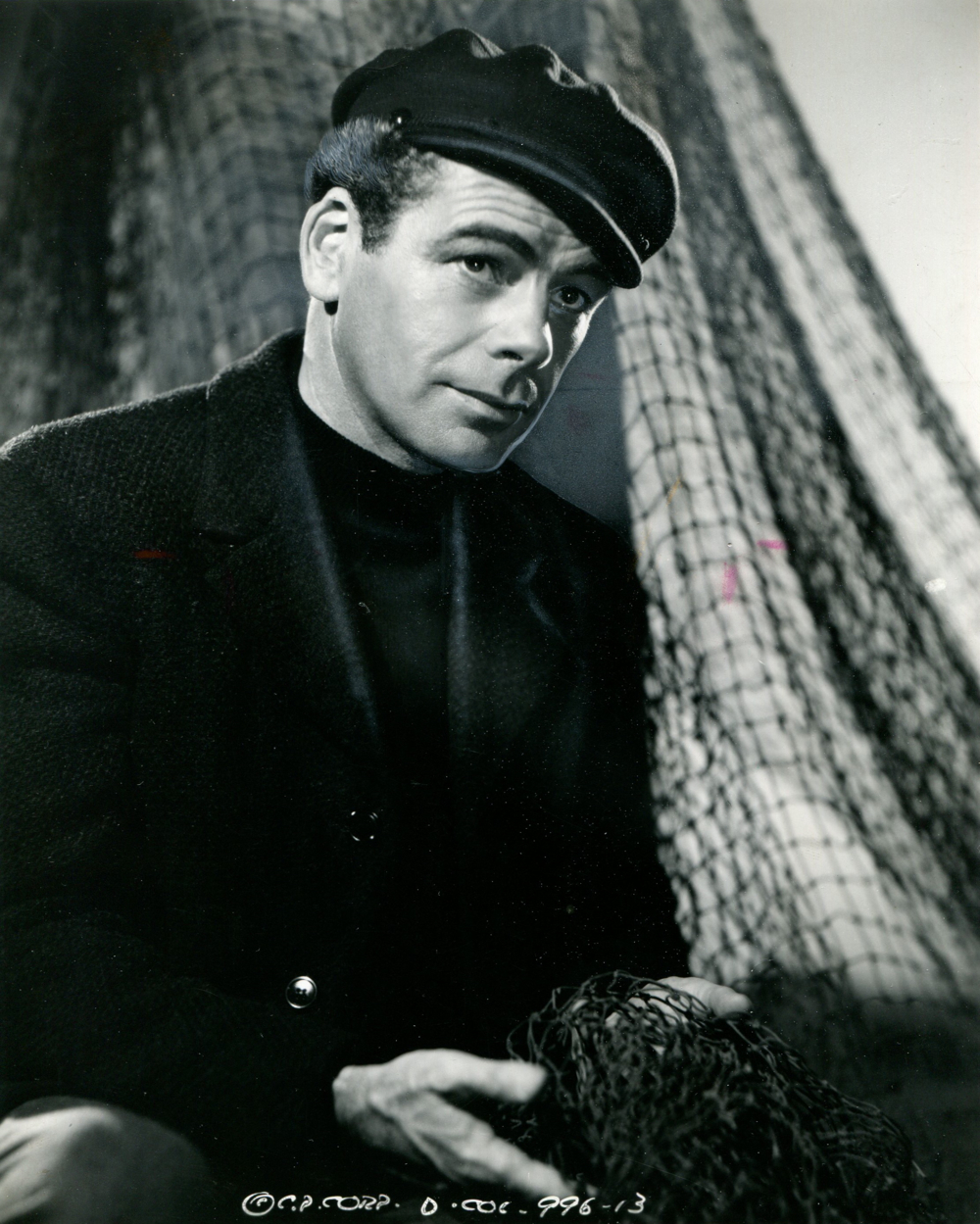 "Paul Muni photo from ""Commandos Strike at Dawn"""