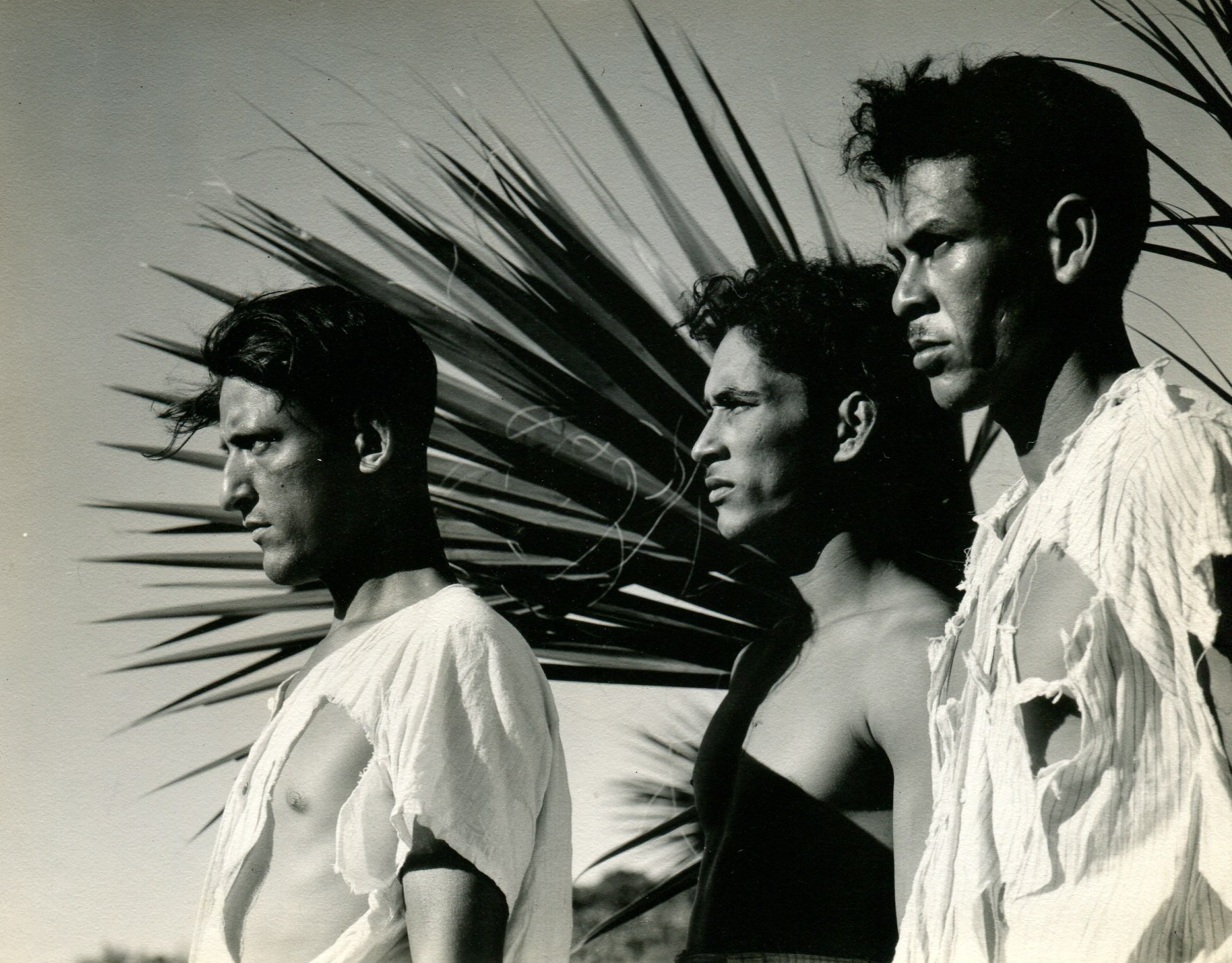 Three angry fishermen from Redes Film by Ned Scott